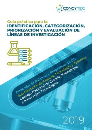 Guia practica para la identificacion categorizacion, priorizacion y evaluación de lineas de investigacion